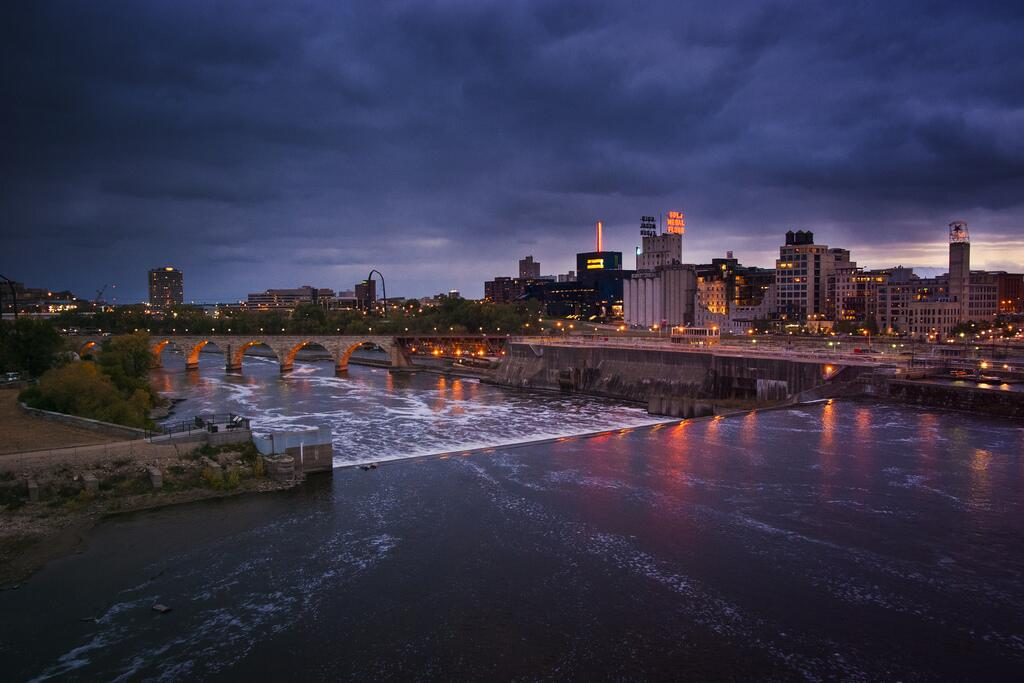 Twitter / BestPixMN: St. Anthony Falls, the ...