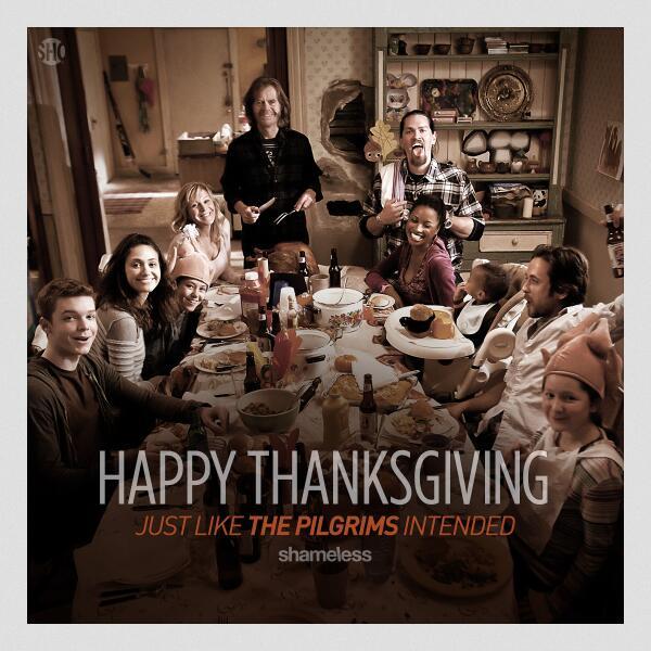 Image result for shameless thanksgiving