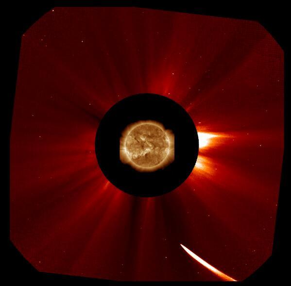 comet ison update - 590×579