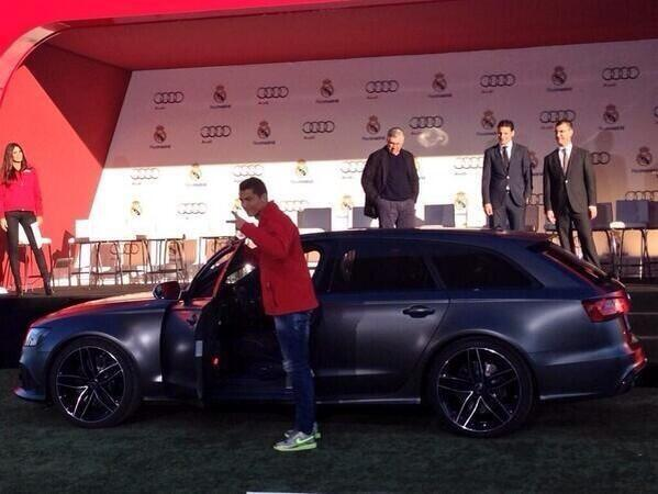 News now Real madrid - Real Madrid players receive cars from Audi Photos