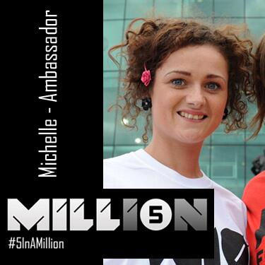 Meet Michelle one of my #5InAMillion, listen to what she has to say & help if you can RT http://t.co/MeYDCFucrU http://t.co/G9CEXWJ4lj