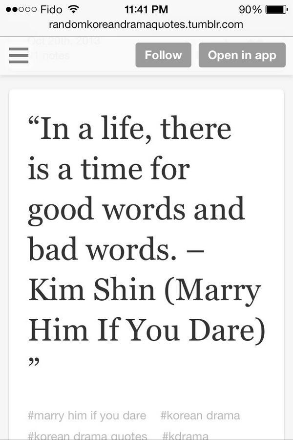 Korean Drama Quotes Kdramaquotes Twitter