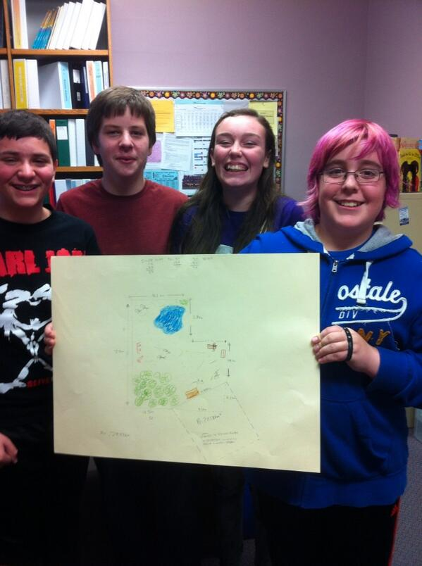 Gr 8 MWPS students proudly sharing their grp math problem solving. #tvadmin #tvlearn http://t.co/6Ju8vmm2Tj