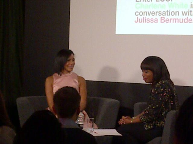 Twitter / LCCLondon: Julissa in conversation with ...