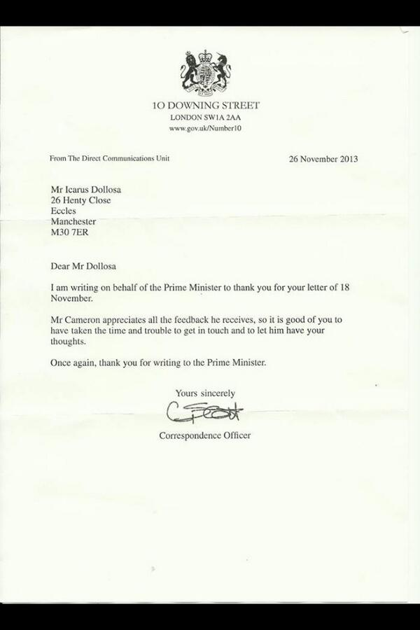 Pinoy ofw uk on twitter reply letter from the office of the uk pinoy ofw uk on twitter reply letter from the office of the uk prime minister regarding the thank you letter ive sent for their help expocarfo Images