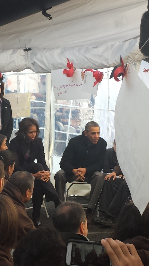 We were delighted to welcome President @BarackObama & @MichelleObama to support the #Fast4Families http://t.co/UtDgUyyrvb