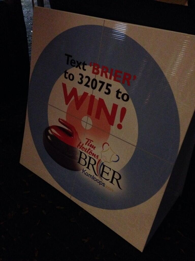 Twitter / cityofkamloops: #Brier wicked prize package ...