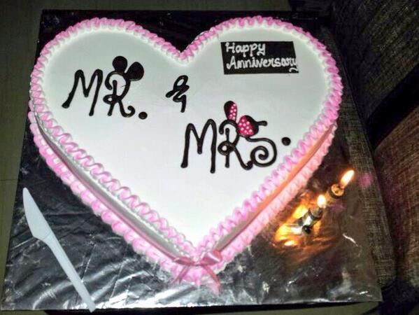 Anniversary cake easy cake recipe heart shaped sponge cake with