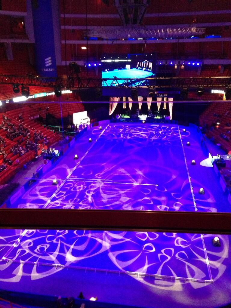 Twitter / MinderhoudHP: Beautiful arena of #Globen ...