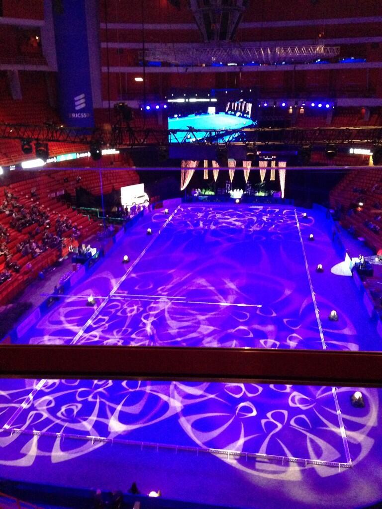 Twitter / MinderhoudHP: Beautiful arena of #Globen ...