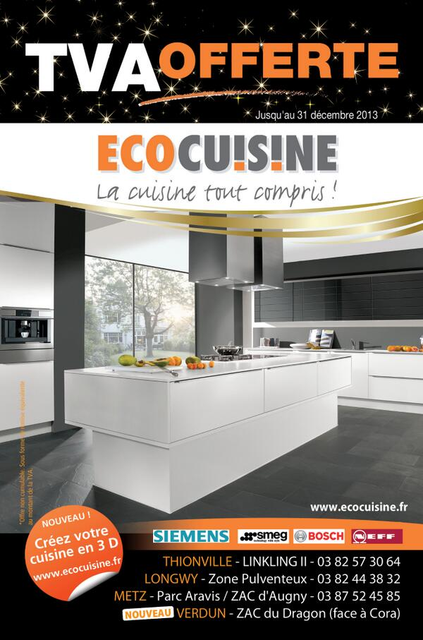 Eco cuisine ecocuisineinfo twitter for Eco cuisine verdun