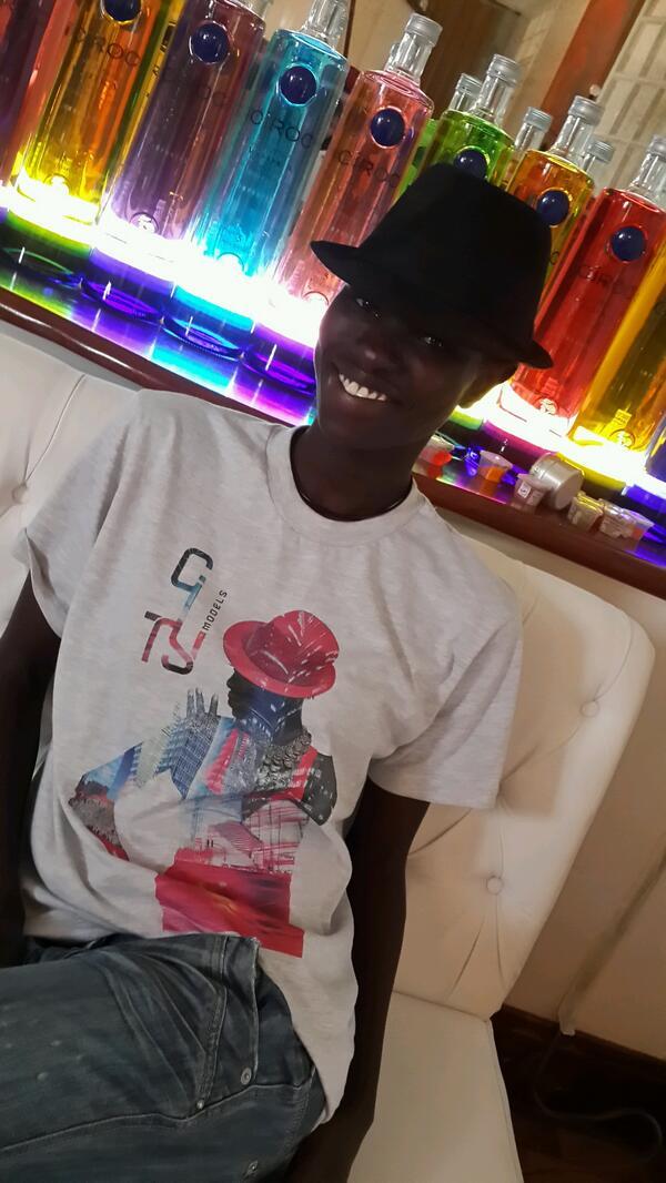 Ajuma Nasenyana  - The hottest twitter @ajumanasenyana citymodelsafricalaunch