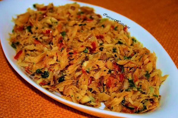Lmb on twitter chiquetaille de morue la cuisine for Cuisine haitienne