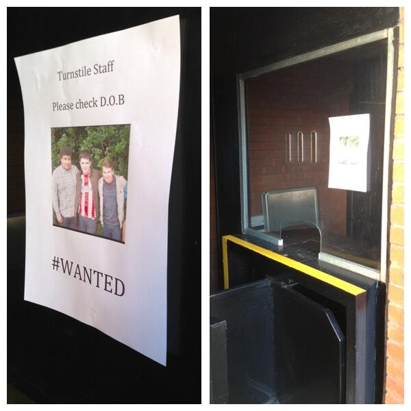 @SfcAlby @_reecebfc Poster positioned in away turnstiles. #Wanted http://t.co/vtc6gYyeYZ