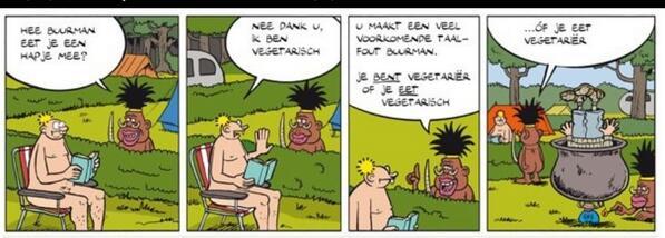 vegetarisch of vegetarier