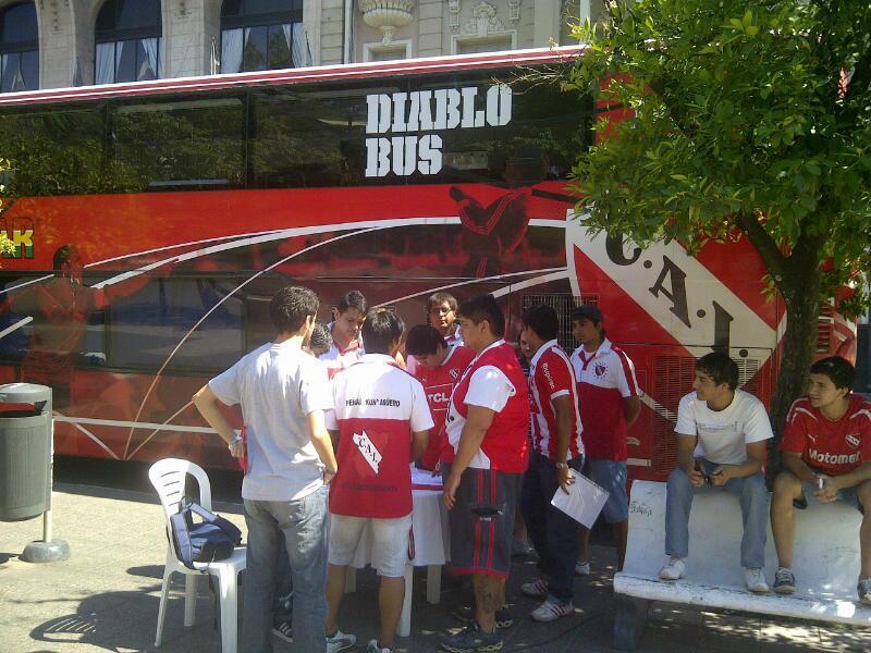El Diablo Bus en Tucumán