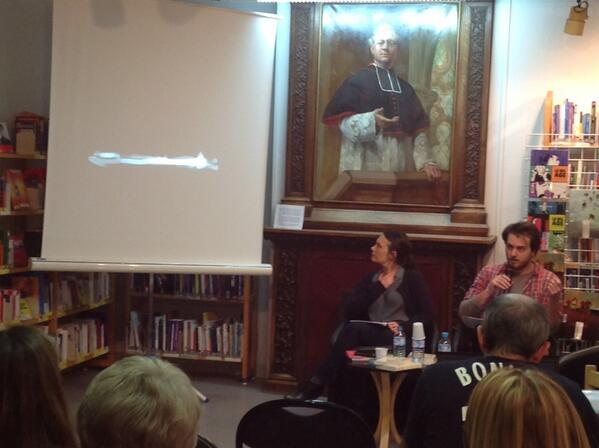 Tristan Garcia lit, Merwan dessine ! #aulnay #msa http://t.co/avxClNiUfU