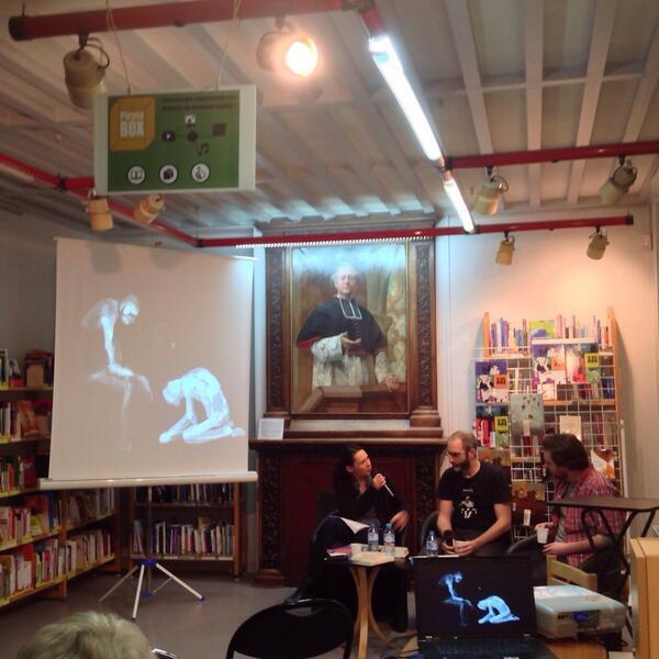 Merwan Et Tristan Garcia parlent de la place de la jeunesse dans leurs œuvres #aulnay #msa http://t.co/G1EzYYGCUn