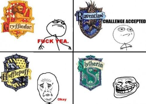 Severus snape on twitter las casas de hogwarts y los - Test de harry potter casas ...