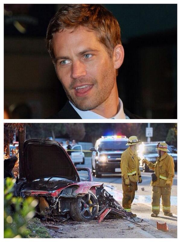 ワイルド スピード ポール ウォーカー 事故
