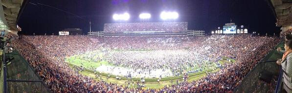 Auburn Football On Twitter Photo Panoramic Of The
