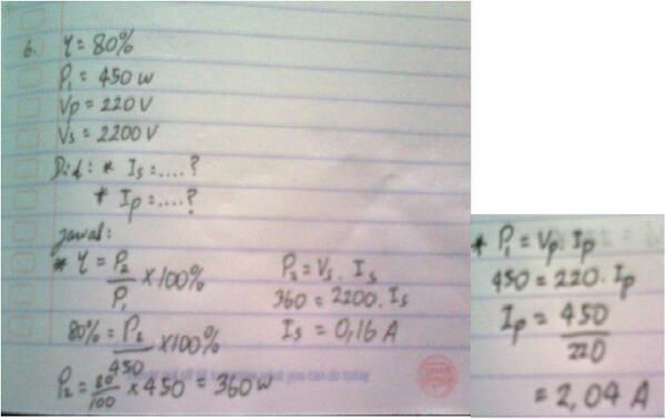 Jawaban No. 6 dari Ronala Jukari