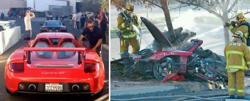 "Звезда ""Форсажа"" Пол Уокер никогда не водил Porsche"
