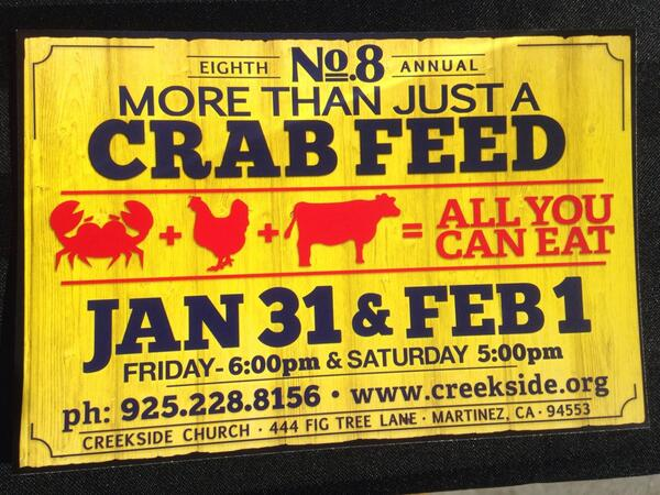 Don't forget, crab feed is coming up! #benefitsmusdschools http://t.co/696G8wiAb1