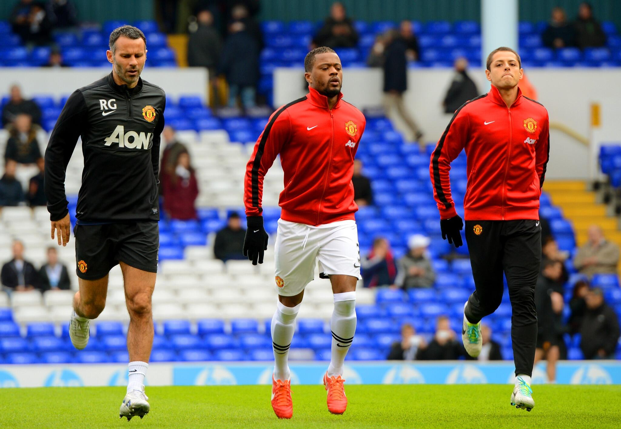 Twitter / ManUtd: Ryan Giggs won't feature on ...