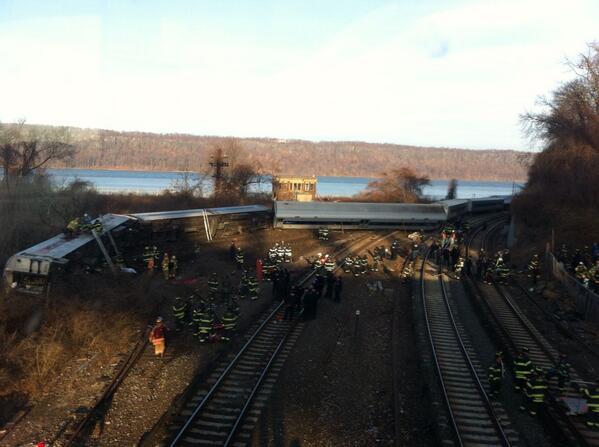 Train derailment #derail #mnr http://t.co/x1JeHAG8cW