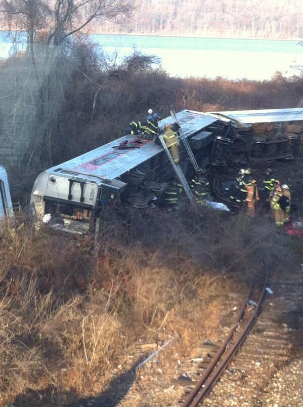 First responders #derail #mnr http://t.co/G3QEbw0mXr