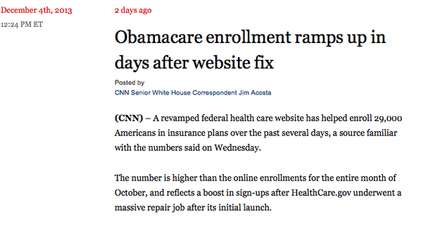 The health care marketplace is getting lots of traffic—and people are signing up: http://t.co/hGYRutGsOF http://t.co/lblXxpKuyB