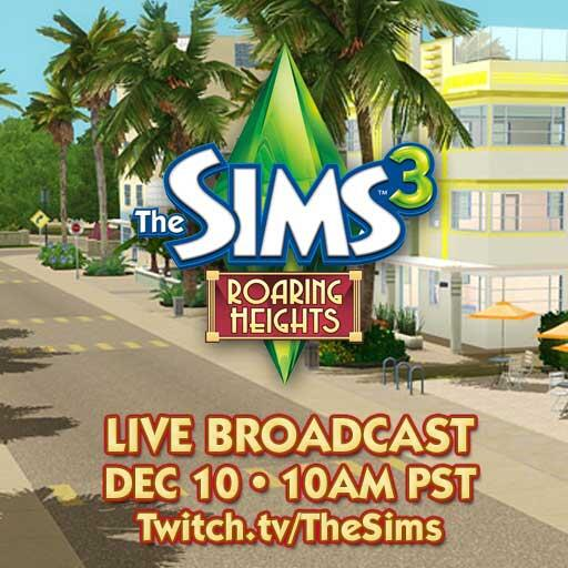 [noticia]Retransmision y repeticion Los Sims 3 Roaring Heights+logo Ba_XnXdCcAEhP9C