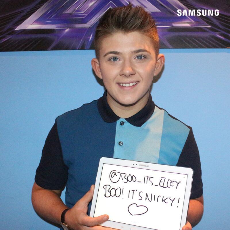 BOO! IT'S NICKY, @BOO_ITS_ELLEY! #xfactor #TXFsigns http://t.co/1UqQACKFYv