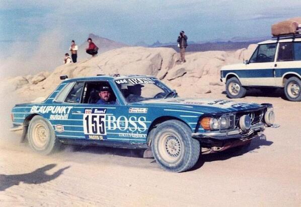 Rally raid news on twitter paris dakar 1984 n 155 for Rallye mercedes benz