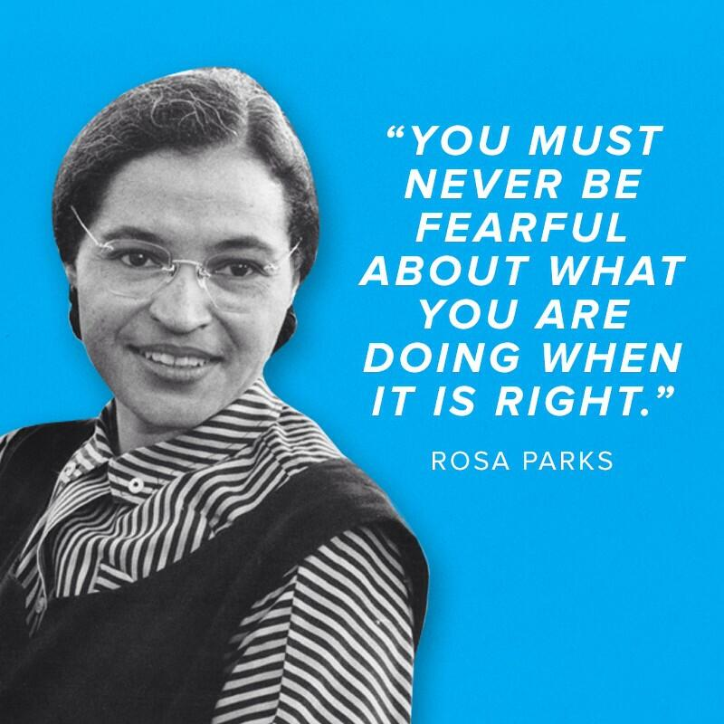 GOP on Twitter Today we remember Rosa Parks bold stand and her – Rosa Parks Worksheet