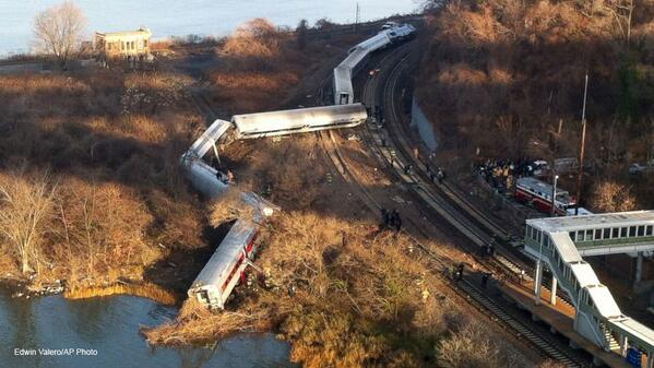Thumbnail for Train Derails in NYC