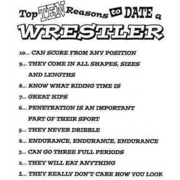 Perks Of Dating A Wrestler