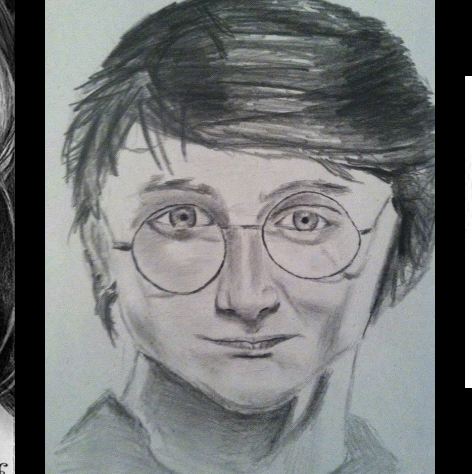 how to draw realistic harry potter characters step by step