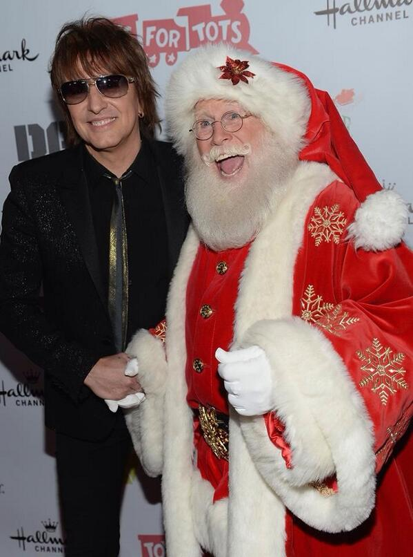 Santa is excited to meet King of Swing @TheRealSambora http://t.co/w7QP7wrS2s