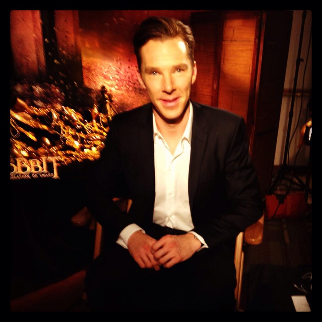 Twitter / TheHobbitMovie: The lovely Benedict Cumberbatch ...