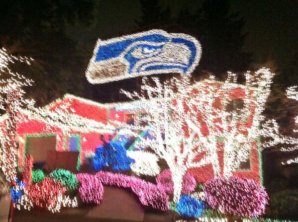 Seahawks Christmas Lights.I M Not So Big Lo On Twitter It S Been A Night Of