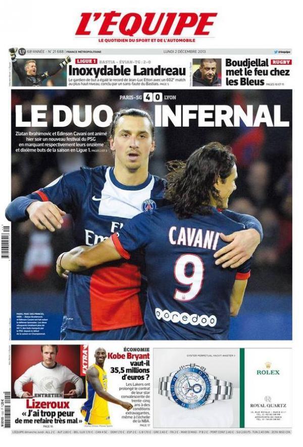 Thumbnail for Le week-end de Ligue 1