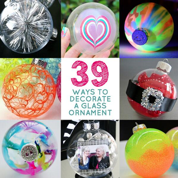 39 Ways To Decorate A Glass Ornament // http://t.co/k7kiXInk5u http://t.co/RcpHKpwgty