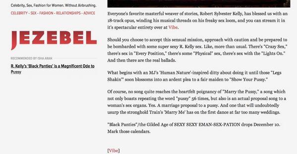 Thumbnail for Jezebel & Black Women - Shaky History