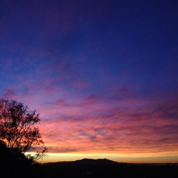Yet another amazing LA sunset. http://t.co/fVT6jgSCfg