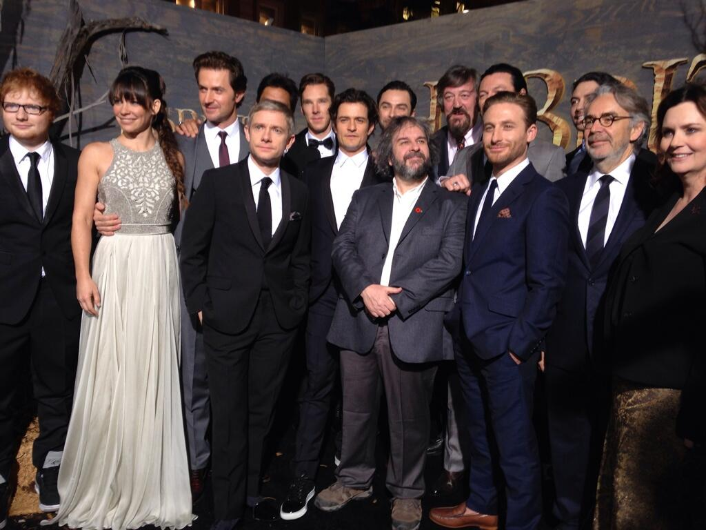 Twitter / TheHobbitMovie: Peter Jackson and the incredible ...
