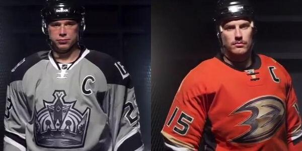 new style 5aff7 4d002 Kings And Ducks Unveil Stadium Series Jerseys [PHOTO ...