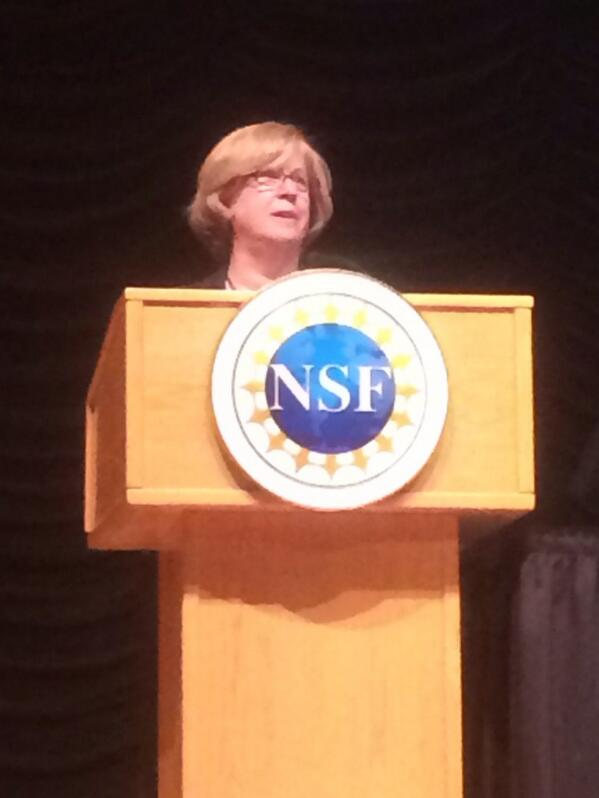 RT @bbuckner: Dr Joan Ferrini-Mundyb@NSF_EHR addressing STEM Smart: Lessons Learned from Successful Schools #NSFstem http://t.co/fahJRrHAeL