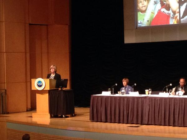 Joan Ferrini-Mundy, EHR Assistant Director at NSF, is opening the DC STEM Smart workshop #nsfstem http://t.co/rGjxenUyJa